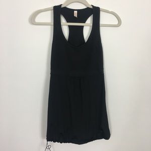 Lucy Black Racerback Workout Tank Top